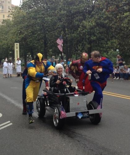 A Superhero team.