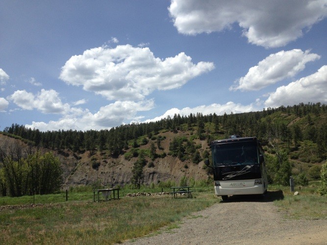 Our site at Elk Meadows