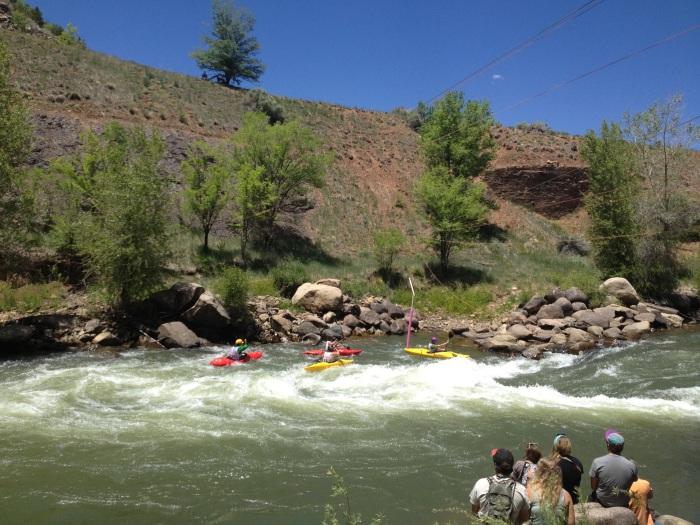 More kayakers!
