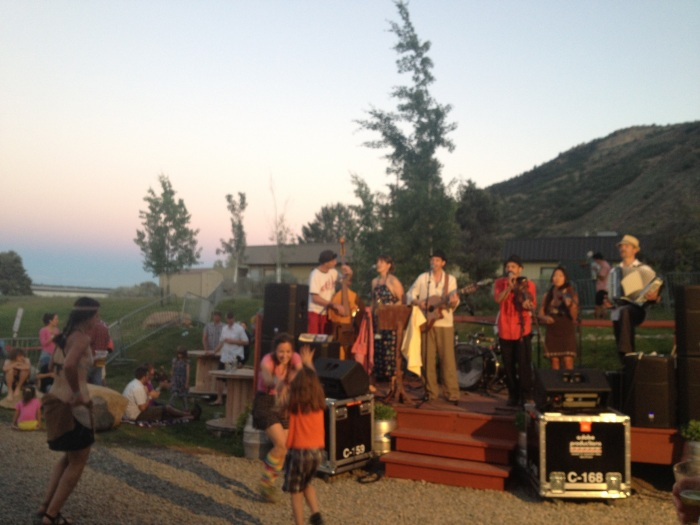Gypsy band at Ska Brewery