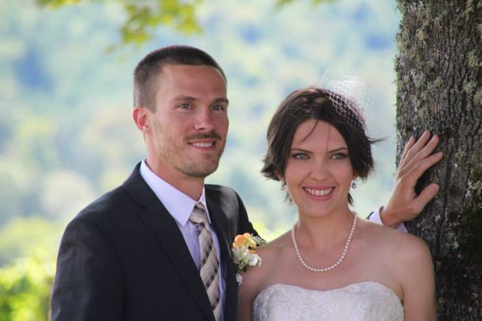 My little bro and his beautiful bride