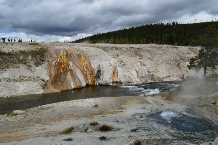 Firehole River at Old Faithful