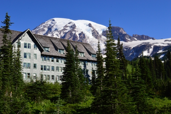 Paradise Lodge at Mt Rainier