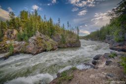 Yellowstone – Canyon Area Waterfalls