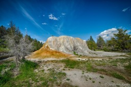 Mammoth Hot Springs and an Unusual Find