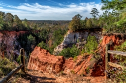 Providence Canyon State Park – in Georgia!
